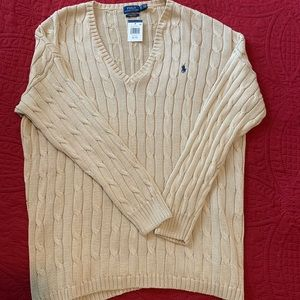 Polo tan neck sweater